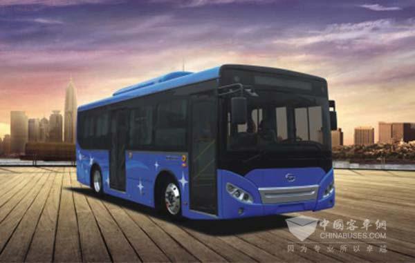 获奖车型:五洲龙FDG6851EVG纯电动客车