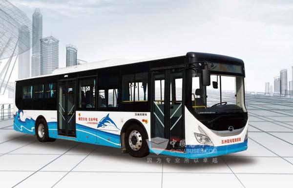获奖车型:五洲龙FDG6123EVG纯电动客车