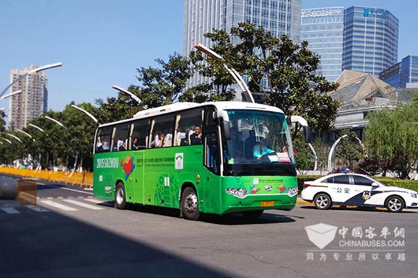 海格KLQ61O9TAEV1纯电动客车