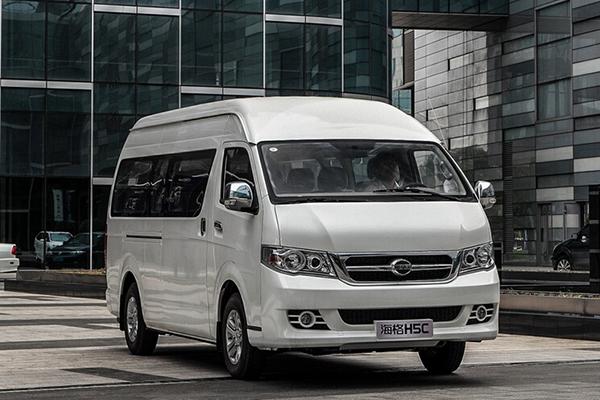 海格H5C KLQ6540QE5商务舒适型轻客(汽油国五10-14座)