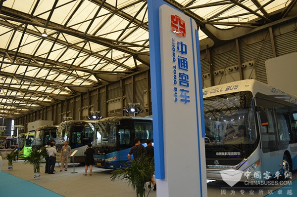 BUS EXPO 2017上海客车展|中通客车展台