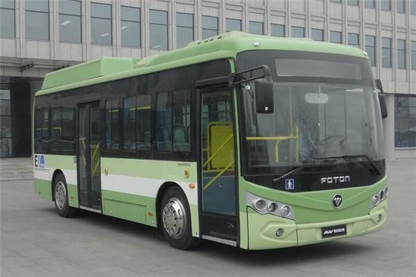 福田欧辉BJ6950B21N公交车(天然气国五19-37座)