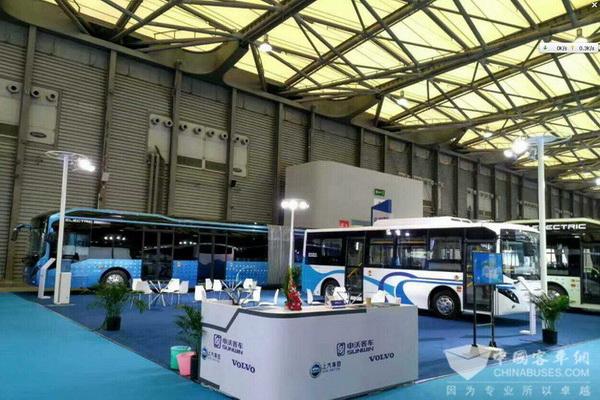 BUS EXPO 2017上海客车展 申沃客车展台