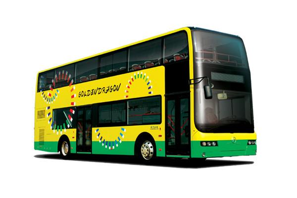 金旅XML6116J18CNS双层公交车(天然气国四24-79座)