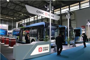 2018上海国际客车展中车展台