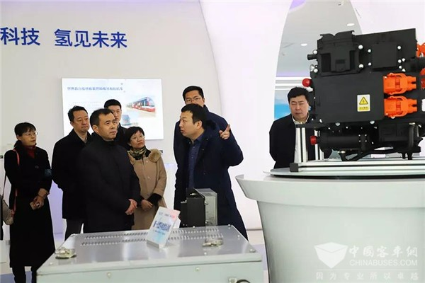 福田汽车董事长张夕勇:加强与亿华通战略合作,推动中国氢能产业化