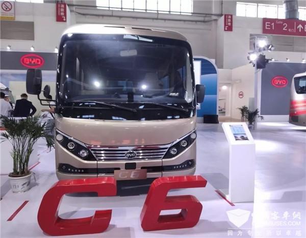 比亚迪C6纯电动客车