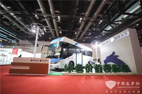"""2019北京电动车博览会 聚焦申龙客车的""""氢""""实力"""