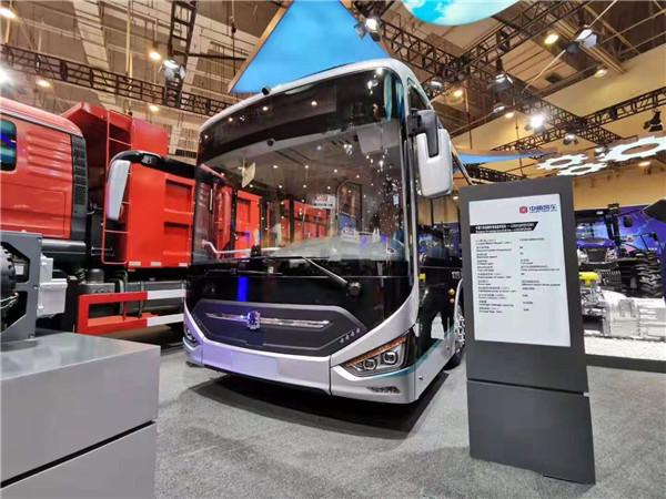 跨国公司领导人峰会,中通客车氢燃料电池客车再抢镜