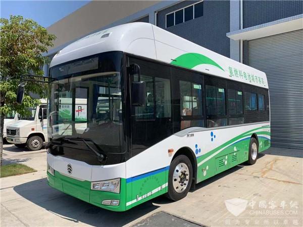 总金额3.68亿! 金旅拿下佛山氢燃料电池客车大单