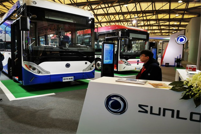 CIB EXPO 2019上海国际客车展--申龙展台