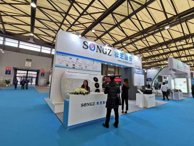 CIB EXPO 2019上海国际客车展--松芝股份展台