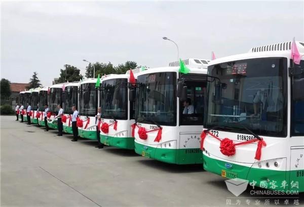 累计超80万公里 开沃氢燃料电池客车再树商业化运营标杆