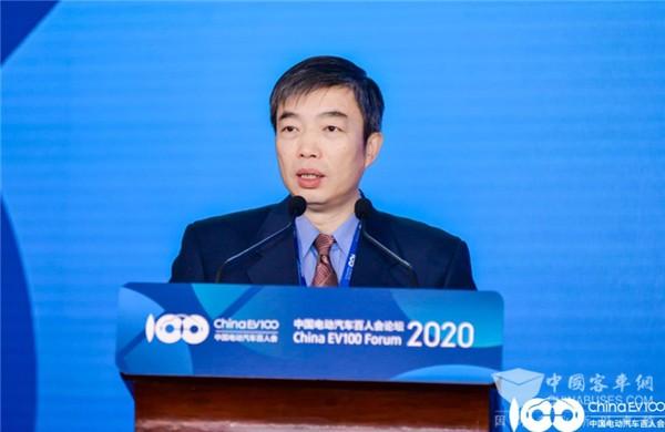 百人会论坛2020|罗俊杰:推动新能源汽车与能源、交通、信息通信全面融合