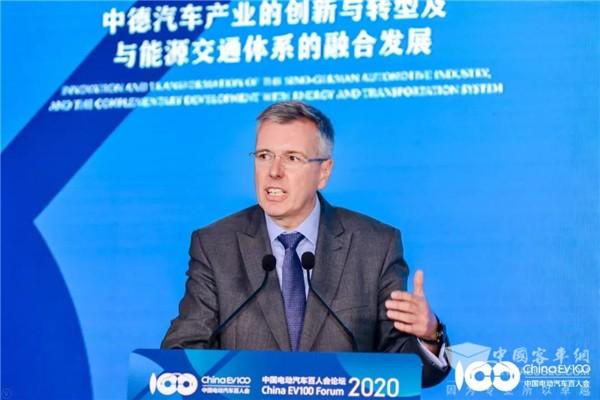 百人会论坛2020|Holger Klein:供应商、主机厂、政府应如何开展合作