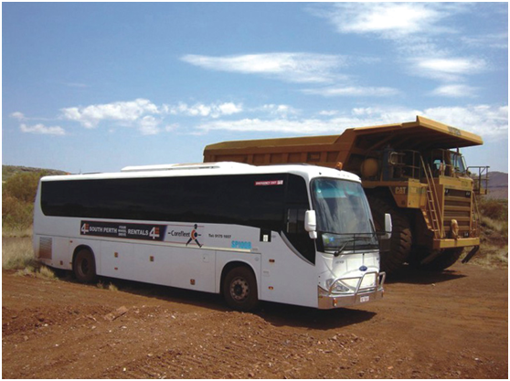 百路佳为澳洲FMG集团开发氢燃料客车