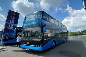 比亚迪全新B12D双层公交车亮点多多,看这里!