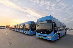 氢燃料版图再扩大!50台吉利远程氢燃料电池公交上线淄博