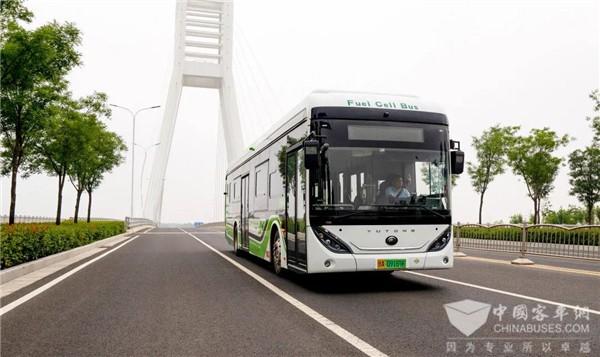 累计运营超600万公里!223辆宇通氢燃料公交车再创新纪录