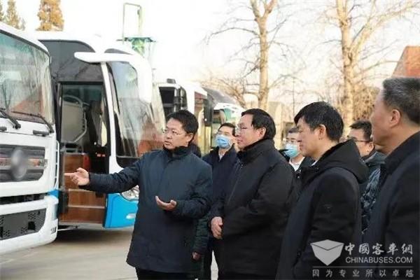 中国石化董事长张玉卓一行赴亿华通调研 强调将整合力量共推氢能产业