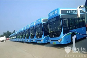 吉利中标马鞍山14辆氢燃料电池公交车订单