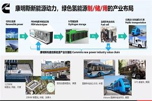 康明斯加入中国氢能联盟 助力氢能及燃料电池应用示范高效推广