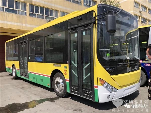 森鹏全芯片数字配电批量装车 保驾乌鲁木齐公交绿色出行