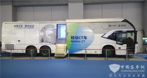 平战结合 机动灵活 金旅13.2米移动重载CT客车重磅上市!