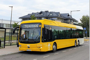 北欧新能源版图再扩充 43台比亚迪纯电动大巴交付芬兰