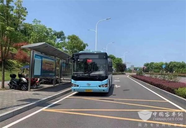 服务企业不打折扣!重庆渝北新设多个公交站台