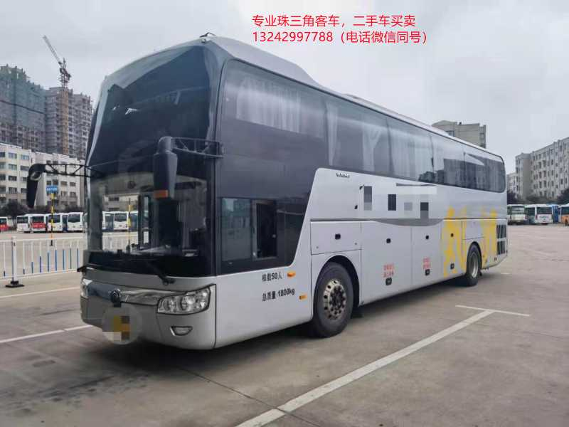 2017年6月 50座国五大高二等级北方配置宇通6126型客车