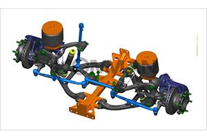 上海科曼3.5T级独立悬架系统