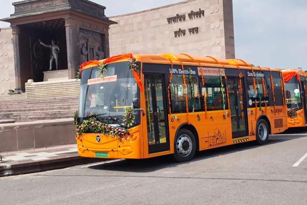75台!世界人口最多的省级行政区,用上了福田欧辉纯电公交车
