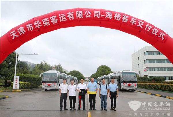 """安全、服务""""两手抓"""" 苏州金龙助华荣客运打造一流通勤班车"""