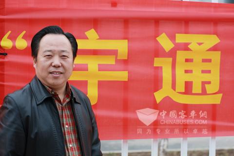 南京扬子公交常务副总经理王辉