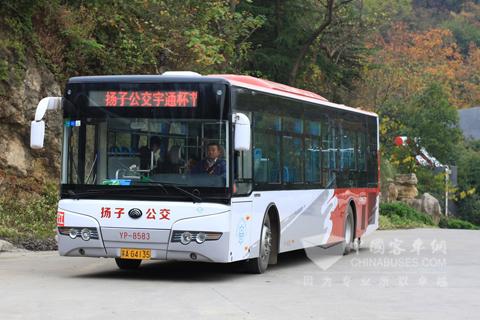 宇通ZK6125HNG2 LNG比赛用车