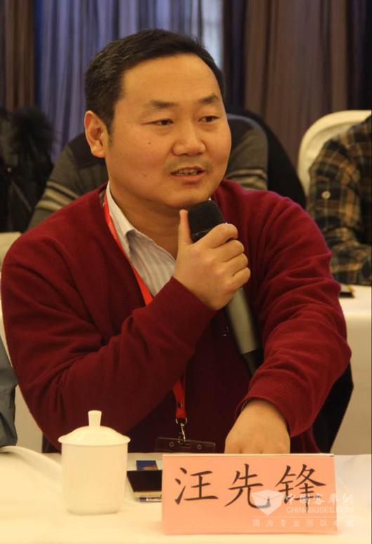 南京金龙大客事业部总经理汪先锋