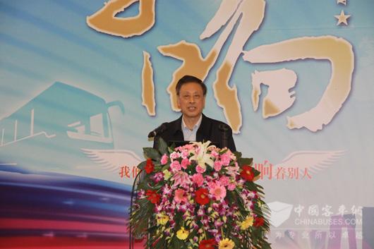 中国道路运输协会原会长姚明德