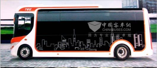 南车时代电动首款纯电动MINI客车——8米纯电动客车