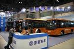 北京车展上的亚星展台