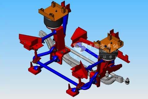 Tuthill(塔海尔)SP065V 5连杆平行四边形空气悬架