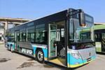 福田欧辉BJ6123C7BTD-1公交车(天然气国五10-46座)