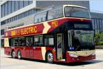 安凯HFF6120GSEV-3A双层观光客车(纯电动)