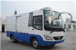 少林SLG5041XXYT5F厢式运输车(天然气国五2座)
