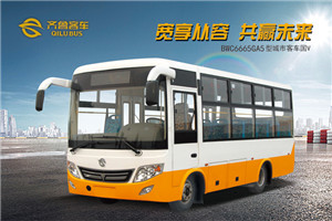 齐鲁BWC6665公交车