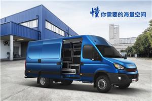 南京依维柯欧胜运瑞V35-30厢式运输车