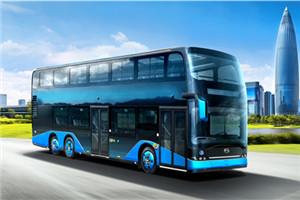 比亚迪B12D双层公交车