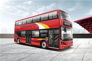 比亚迪K8S双层公交车
