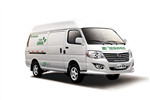 金旅XML5036XXY65A厢式运输车(汽油国五2座)