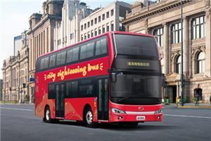 金龙XMQ6108双层公交车